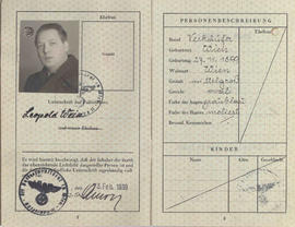 "Pasaporte Leopold ""Israel"" Weiss"