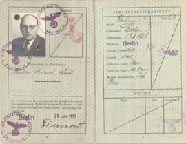 "Pasaporte Walter ""Israel"" Weiss"
