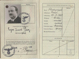 "Pasaporte Eugen ""Israel"" Timar"